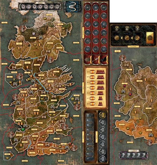 Il trono di spade il gioco da tavolo 2 a edizione la for Il trono di spade gioco da tavolo