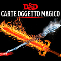 Dungeons & Dragons Carte Oggetto Magico